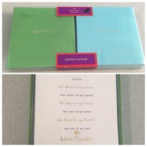 Kate Spade | Bridesmaid Invites & Cocktail Napkins